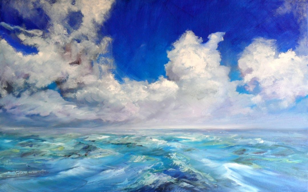 'Secrets & Skies' – A Solo Exhibition of New Paintings