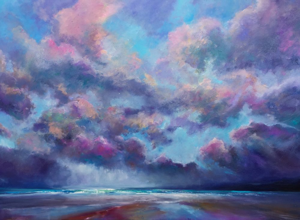 Commissioned painting 'Another Chapter', Oil on canvas, 130x180cm - by Sarah Jane Brown.