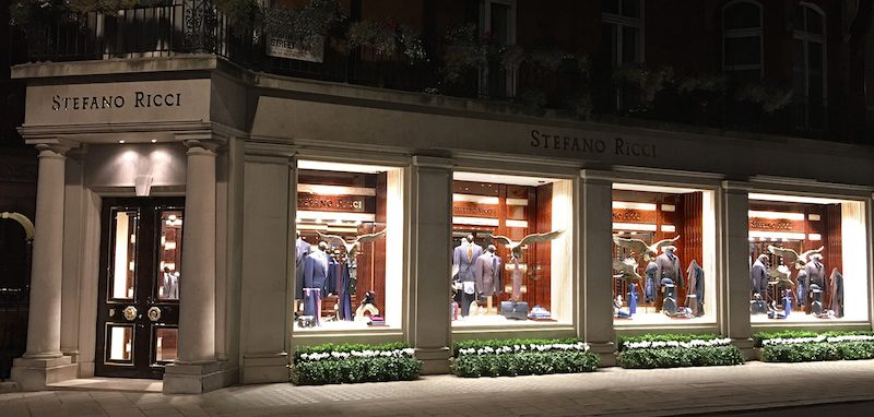 Art event at Stefano Ricci, Mayfair